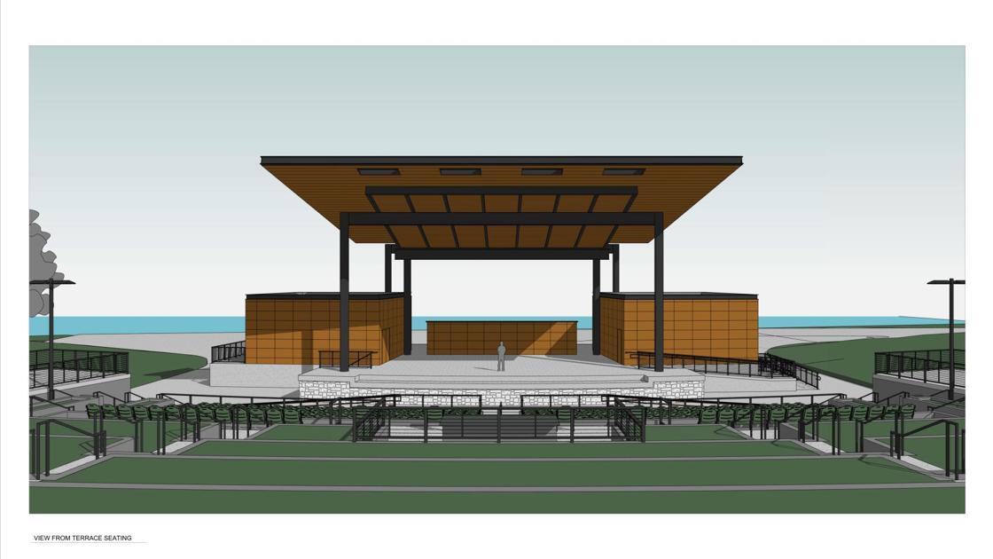 Nelson Park Amphitheater Taking Shape