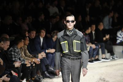 c79fd01c305e8 Stars turn out for swansong of Louis Vuitton designer | Fashion and ...