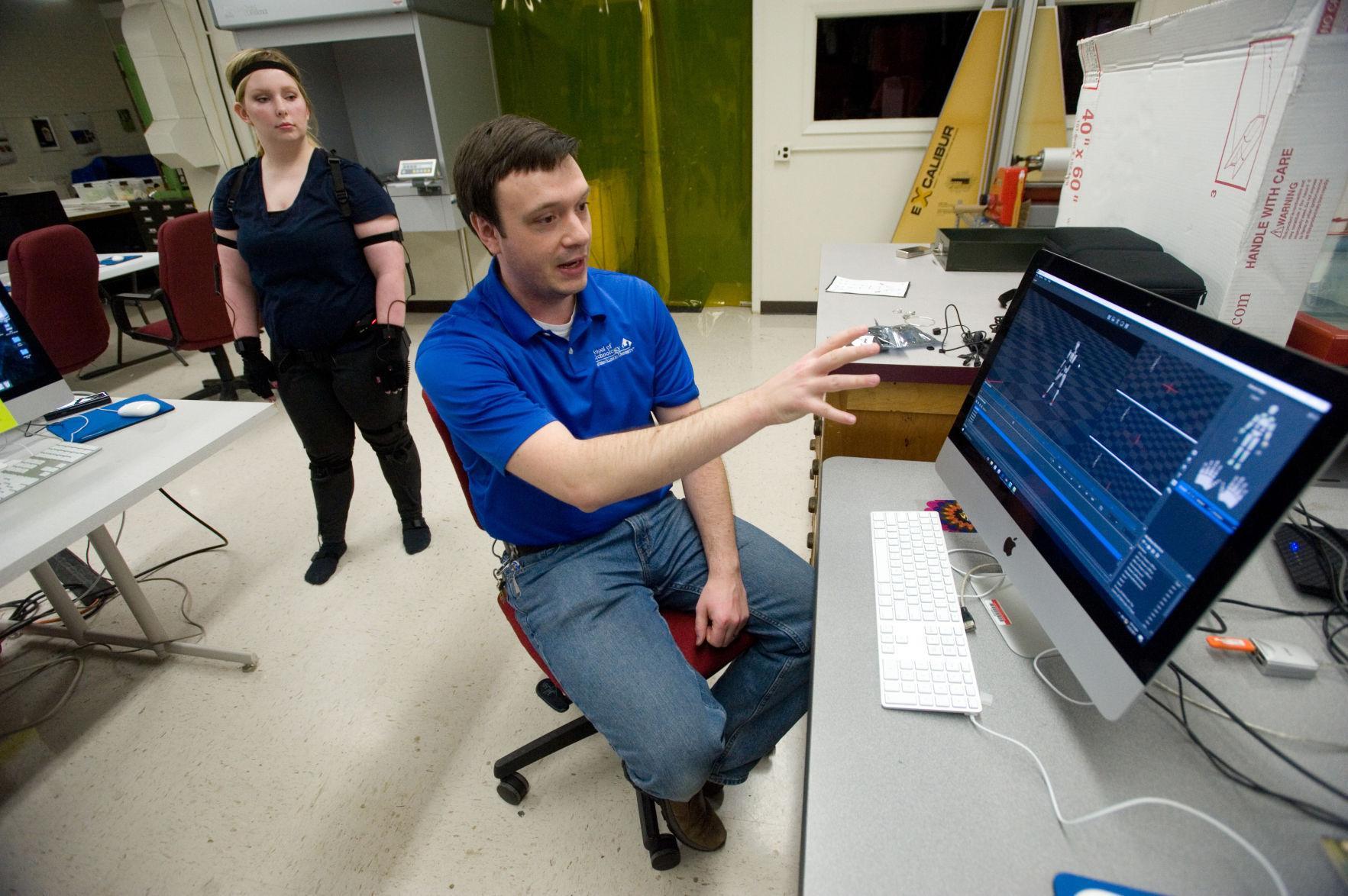 EIU grabs motion capture equipment   Education   herald-review com