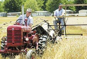 Antique Farm Equipment Show At The Coles County Fairgrounds In
