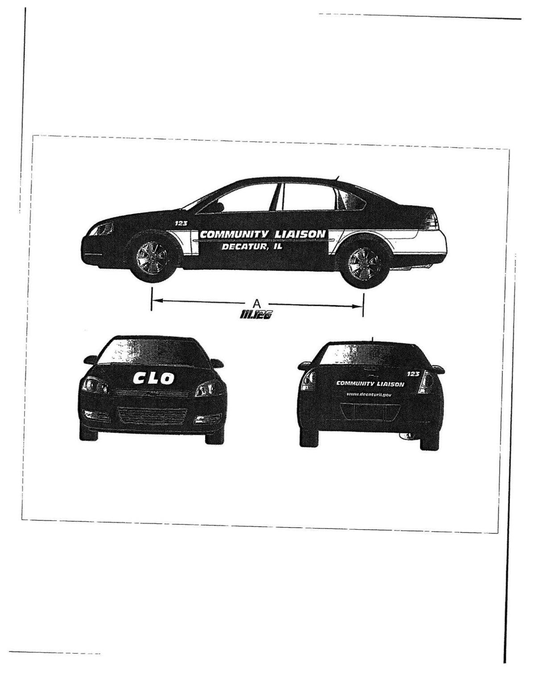 Community liaison officer vehicle
