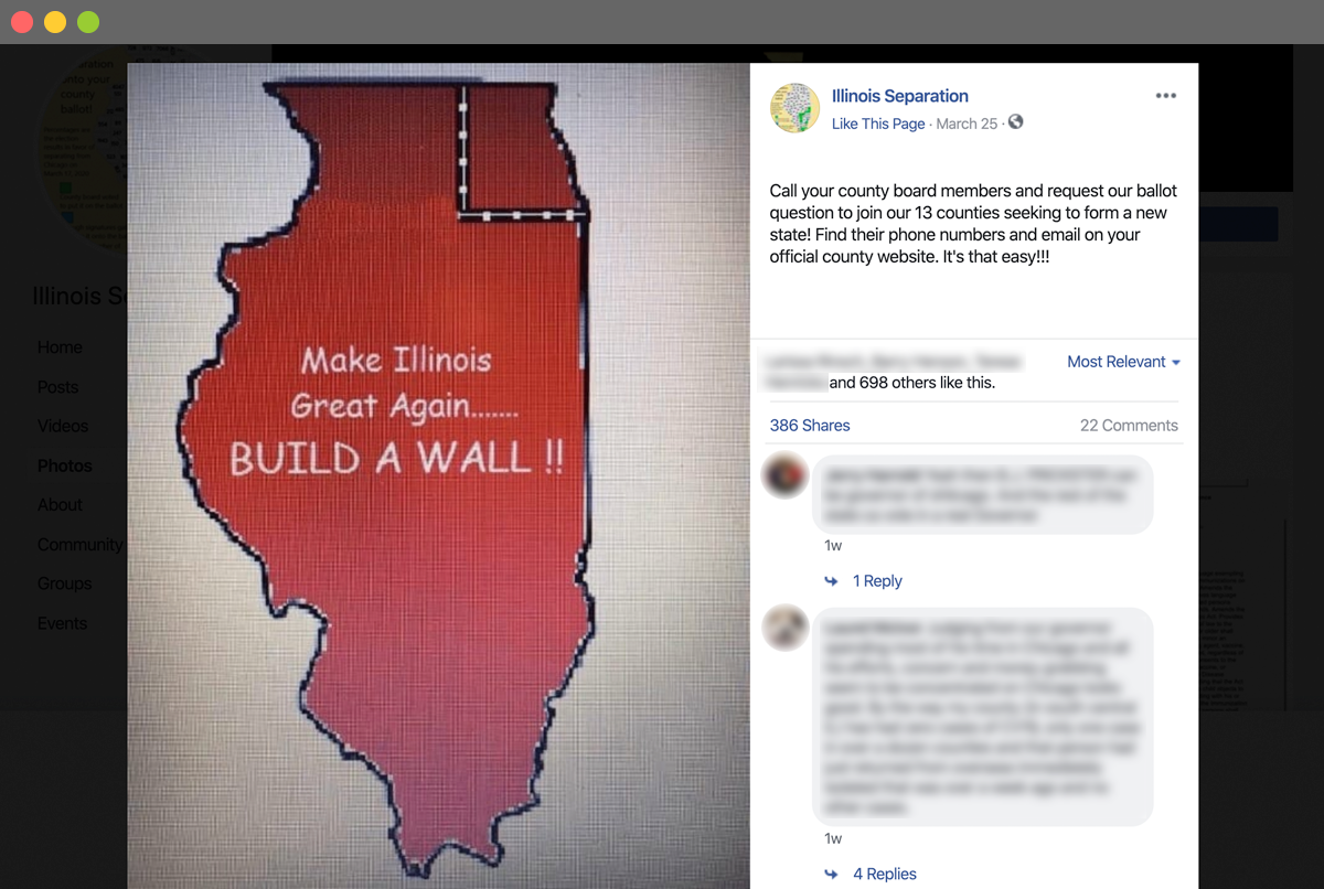 Rural Counties Consider An Alternative Type Of Social Distancing Kicking Chicago Out Of Illinois State And Regional Herald Review Com