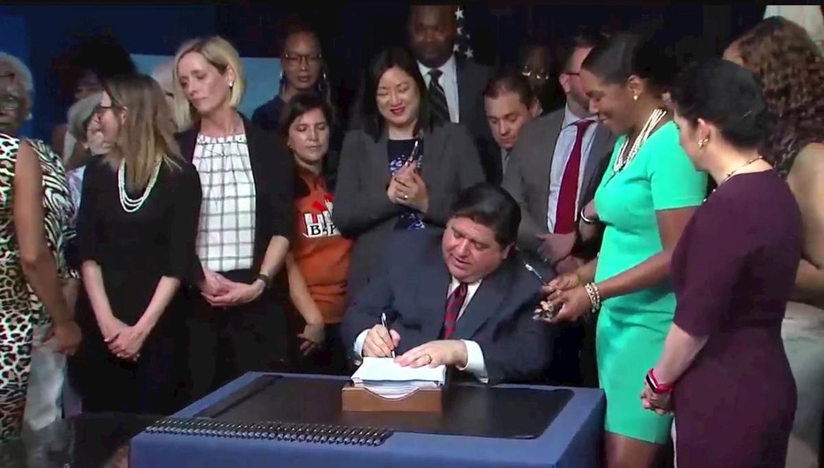 Pritzker Bill Signing 3