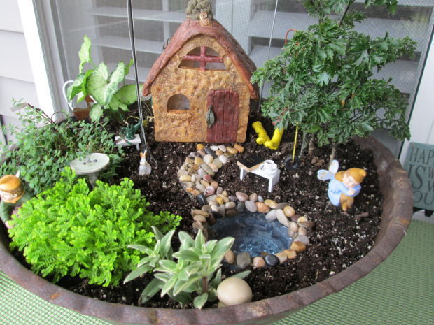 Plant Palette Create An Element Of Surprise With A Fairy Garden Home And Garden Herald