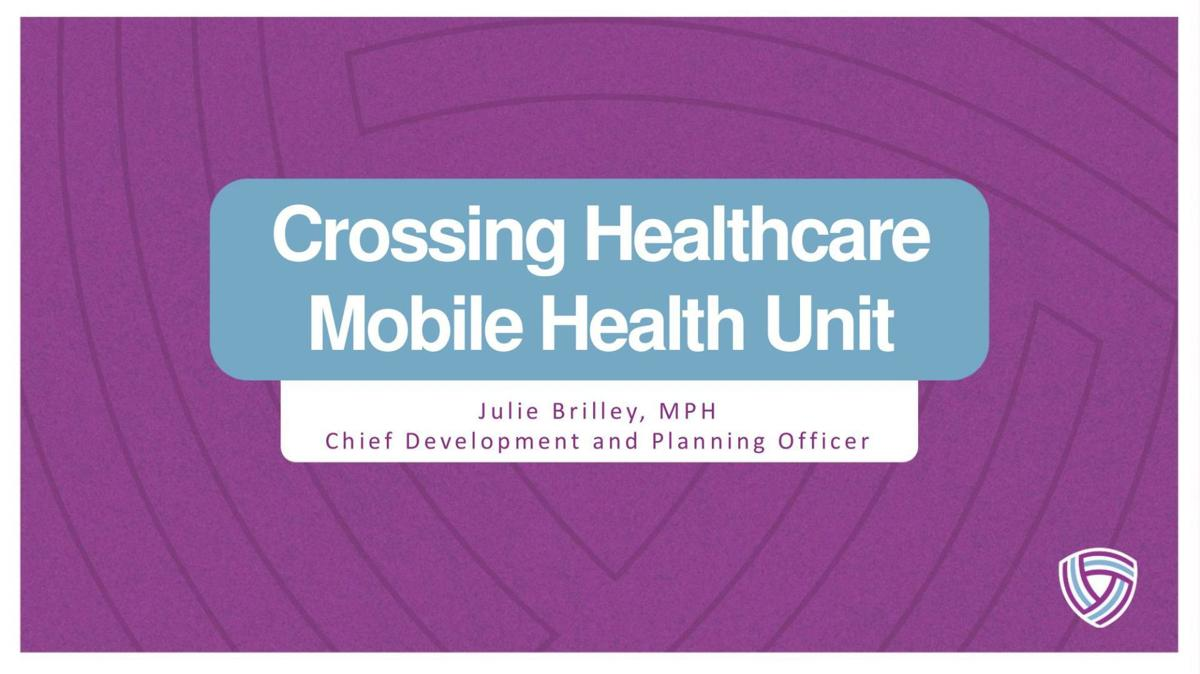 Crossing Healthcare Mobile Health Unit