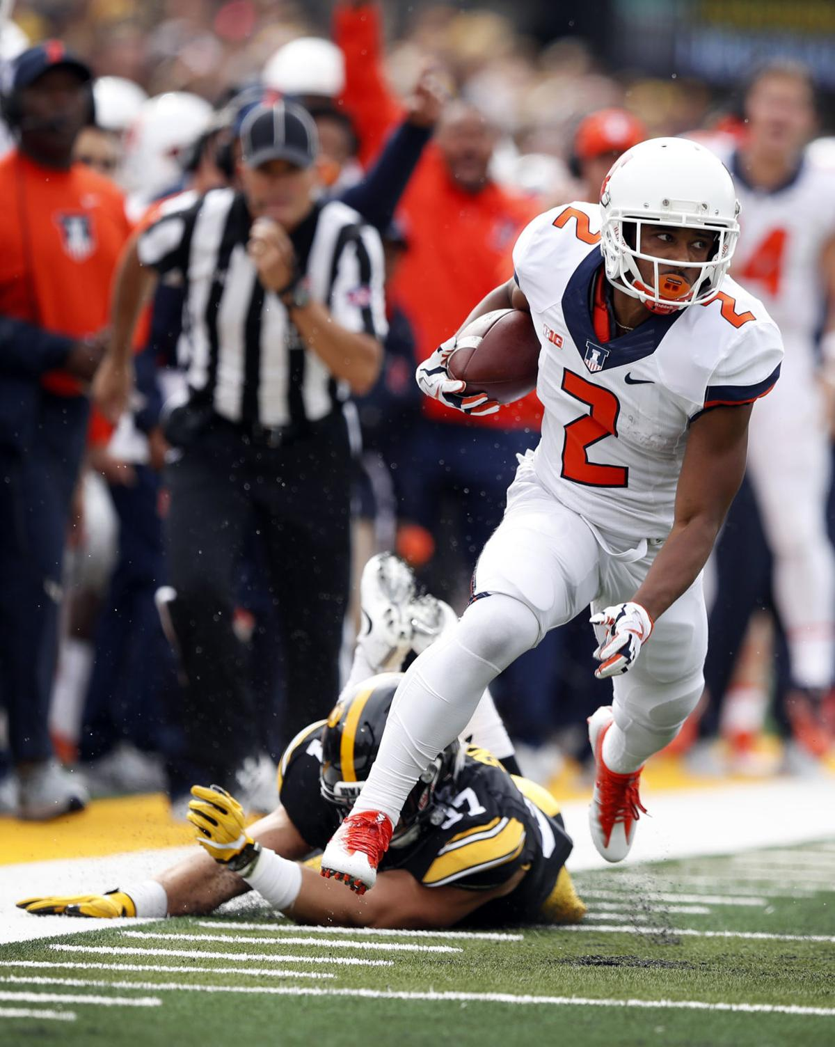 Illinois-Rushing Attack Football