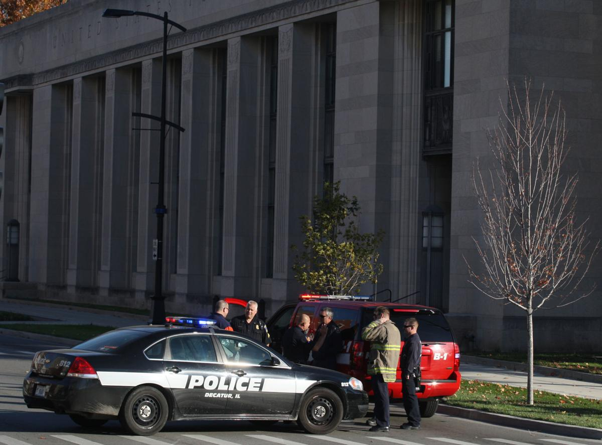 Update: No danger found in suspicious package downtown