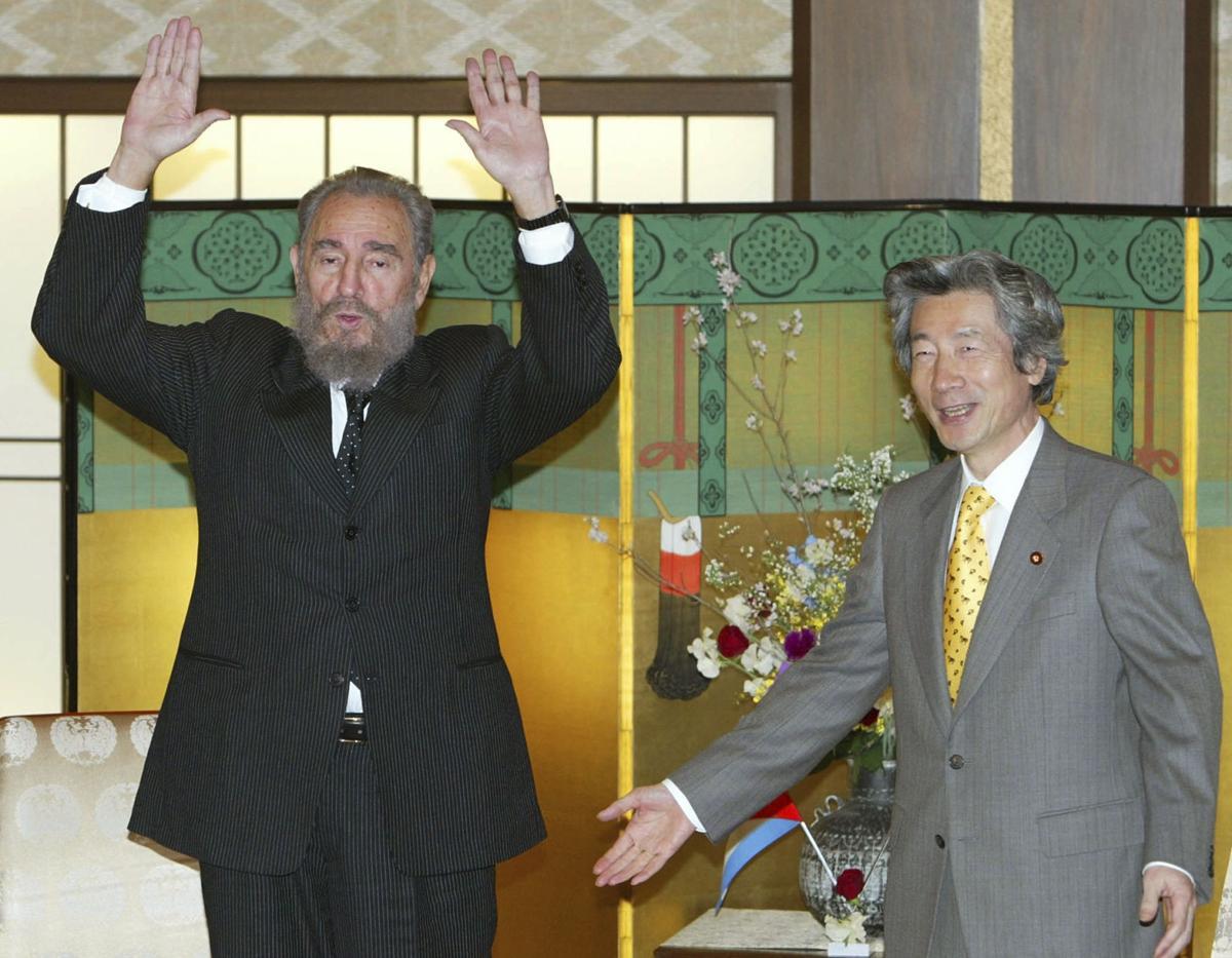 Japan Cuba Obit Fidel Castro