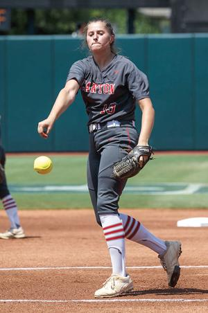 <p>Brooke Vestal was named the TGCA Softball Athlete of the Year in addition to earning a bevy of other honors.</p>