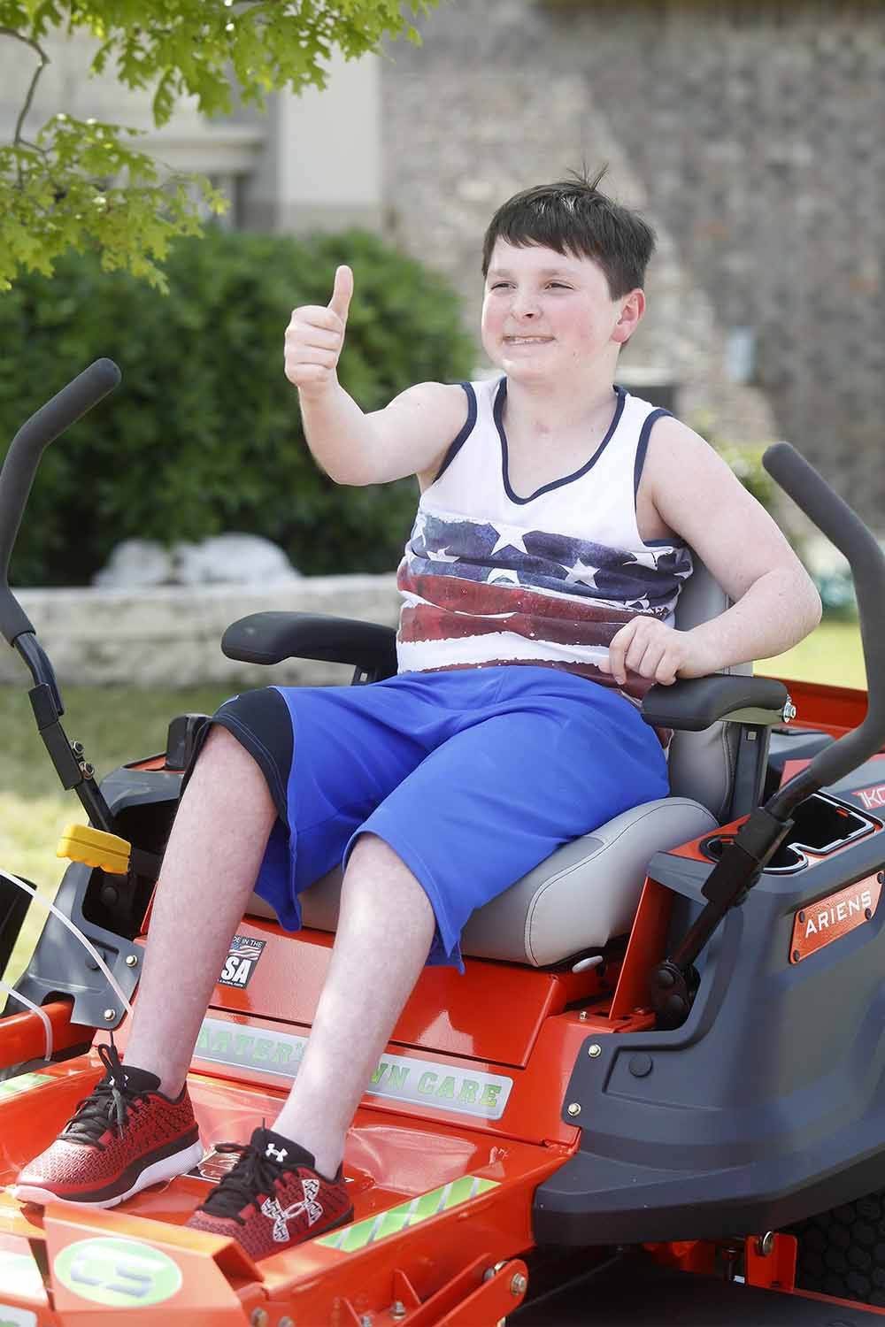 Carter Rides On Wish With Generous Gift Community Alert