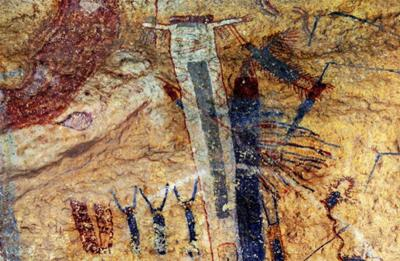 Ancient Secrets of the White Shaman Mural.