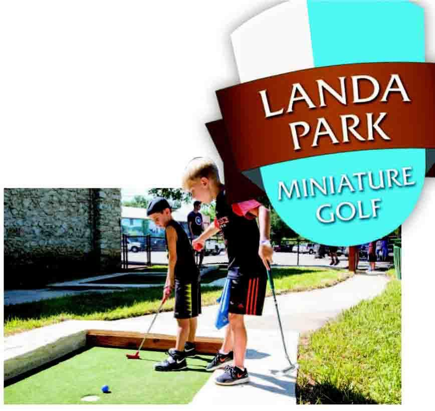 Landa Park miniature golf course now open | | herald-zeitung.com on