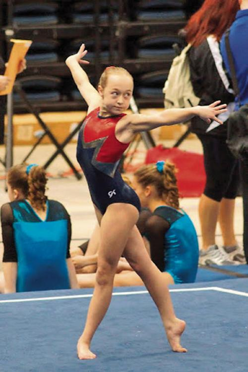 12-year-old Ambs reaching new heights in gymnastics | Local
