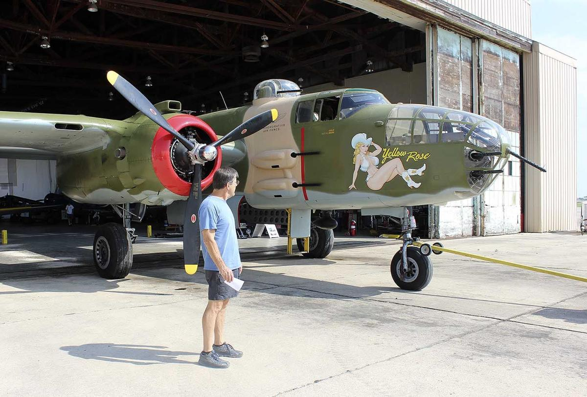 Commemorative Air Force event marks 70 years since close of