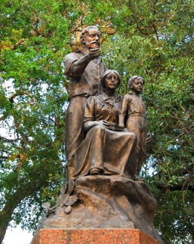 German Pioneer Monument