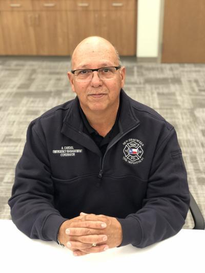 Emergency Management Coordinator Andy Cardiel
