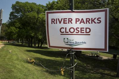 River Parks Closed