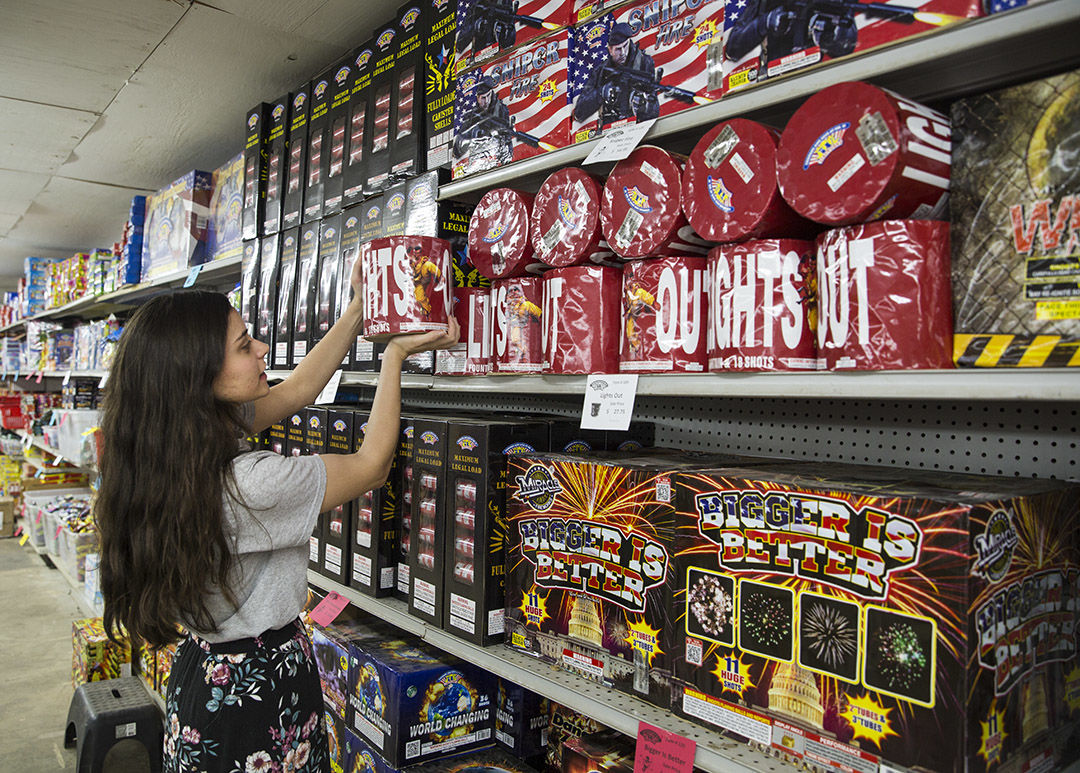 Despite recent wet weather, caution urged with fireworks