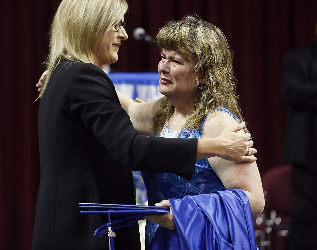 Student honored at NBHS graduation days after death