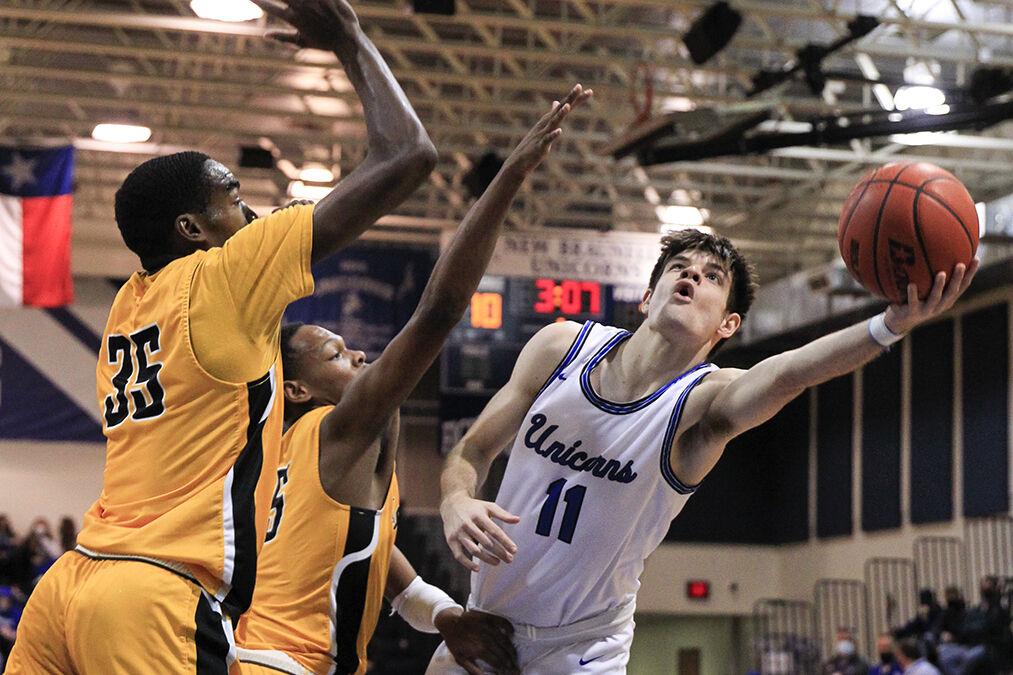 New Braunfels v East Central Boys Basketball