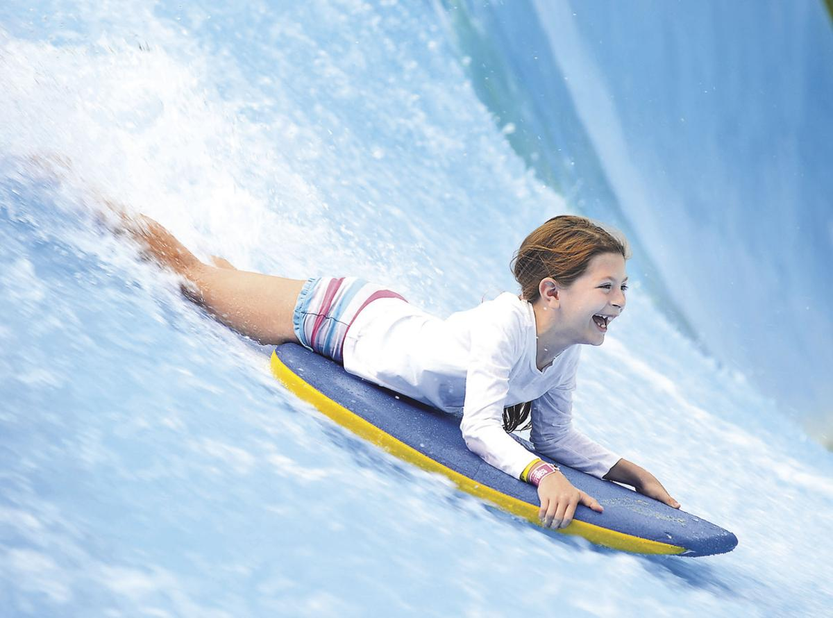 Women Learn to Surf
