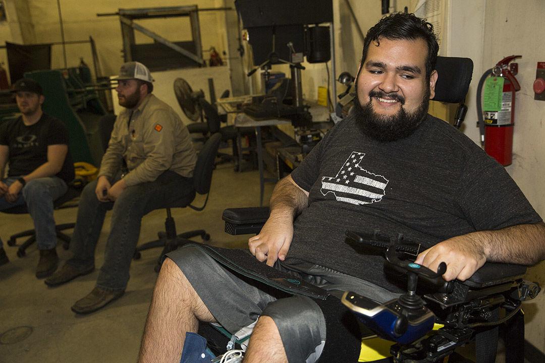 CTTC wheelchair welders