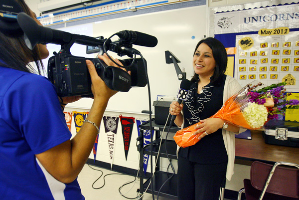 New Braunfels ISD surprises district's 2012 Teachers of the