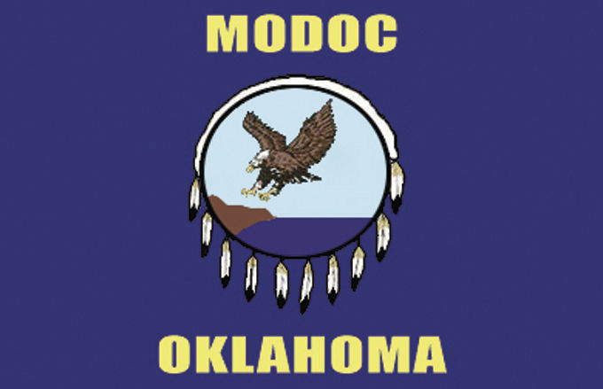 Modoc Tribal flag