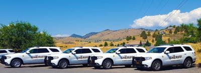 Deputy patrol vehicles