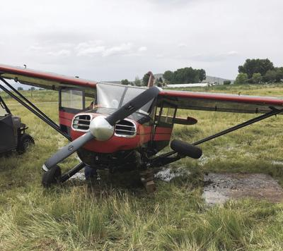 Airplane forced to land in field near Klamath airport | Local News