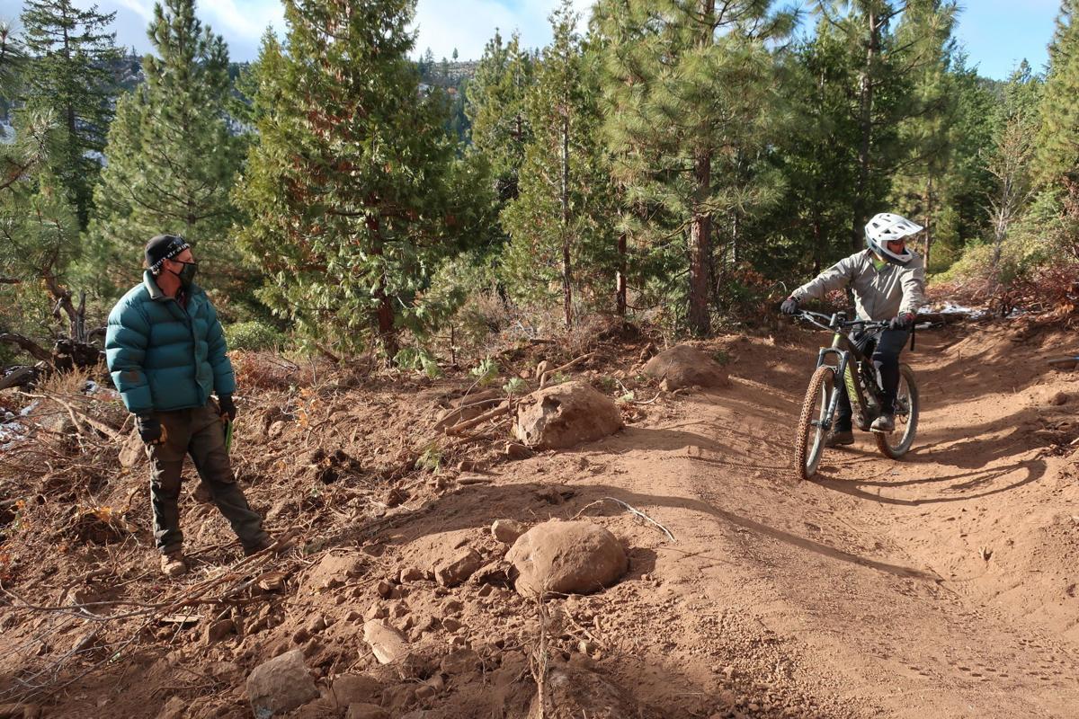 Klamath mountain bike trails