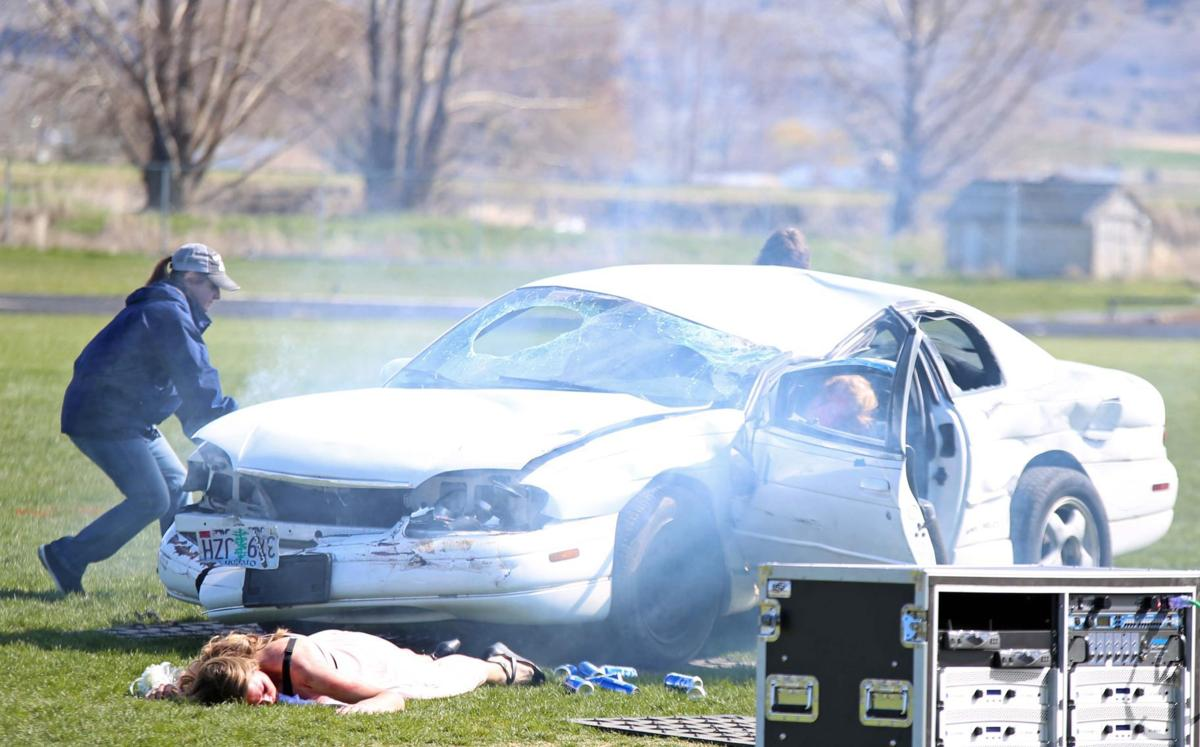 Head-on collision reenactment hits Henley High | Gallery ...
