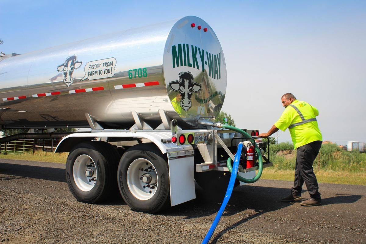 Milky Way Water Truck