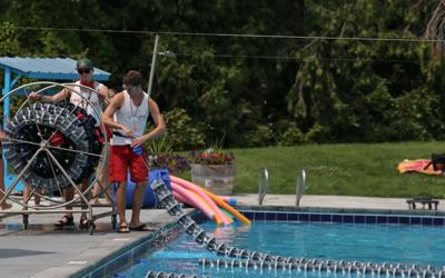Pool reopens as air quality improves slightly