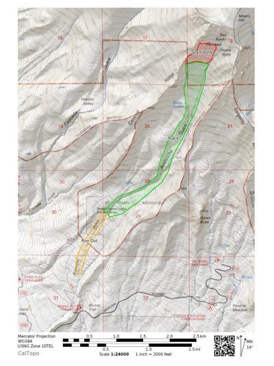 Mount Shasta avalanche