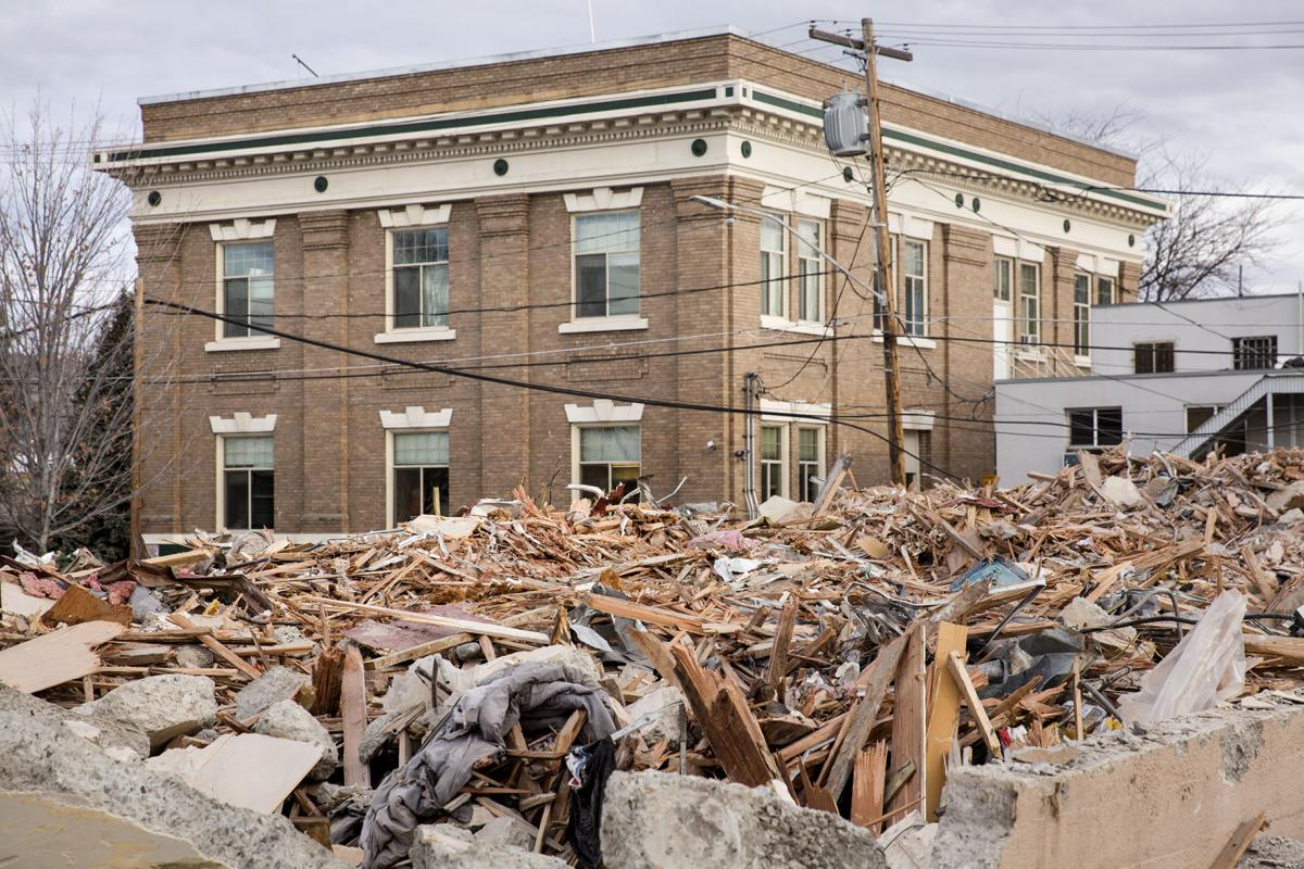 Masonic lodge demolished due to water damage local news for Demolition wood for sale