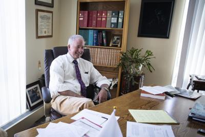 Major General Bunch Retirement - Desk