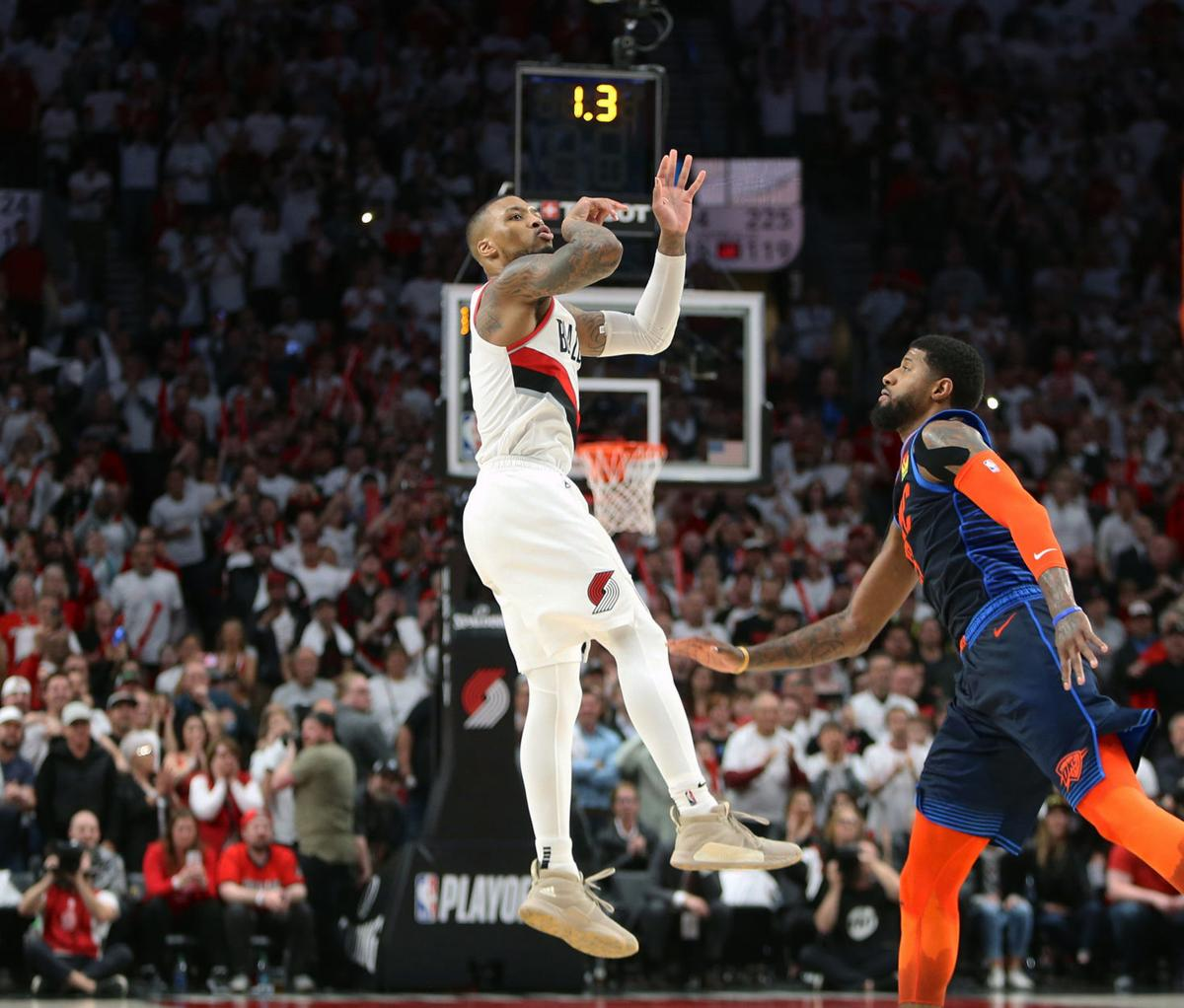 Once Again, Lillard Time Moves Blazers Along In The