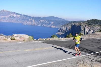 Crater Lake rim run