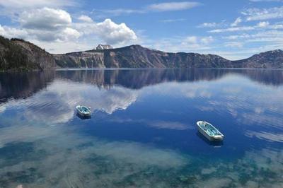 Crater Lake boats