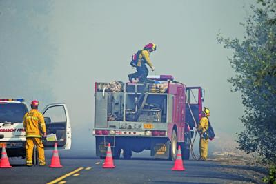 Western Wildfires Oregon