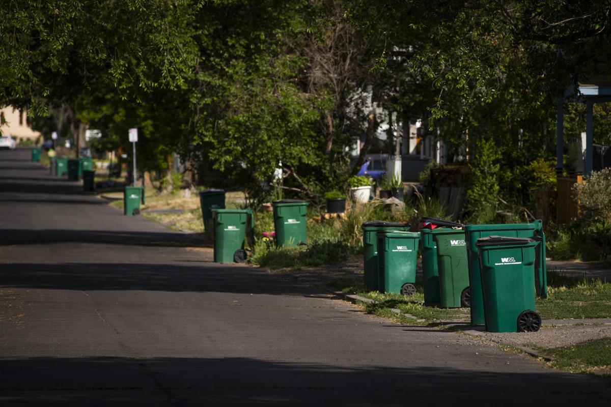 Recycling Bins on Martin Street