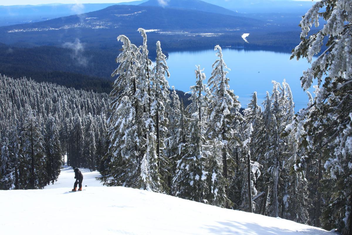 Willamette snowboarding