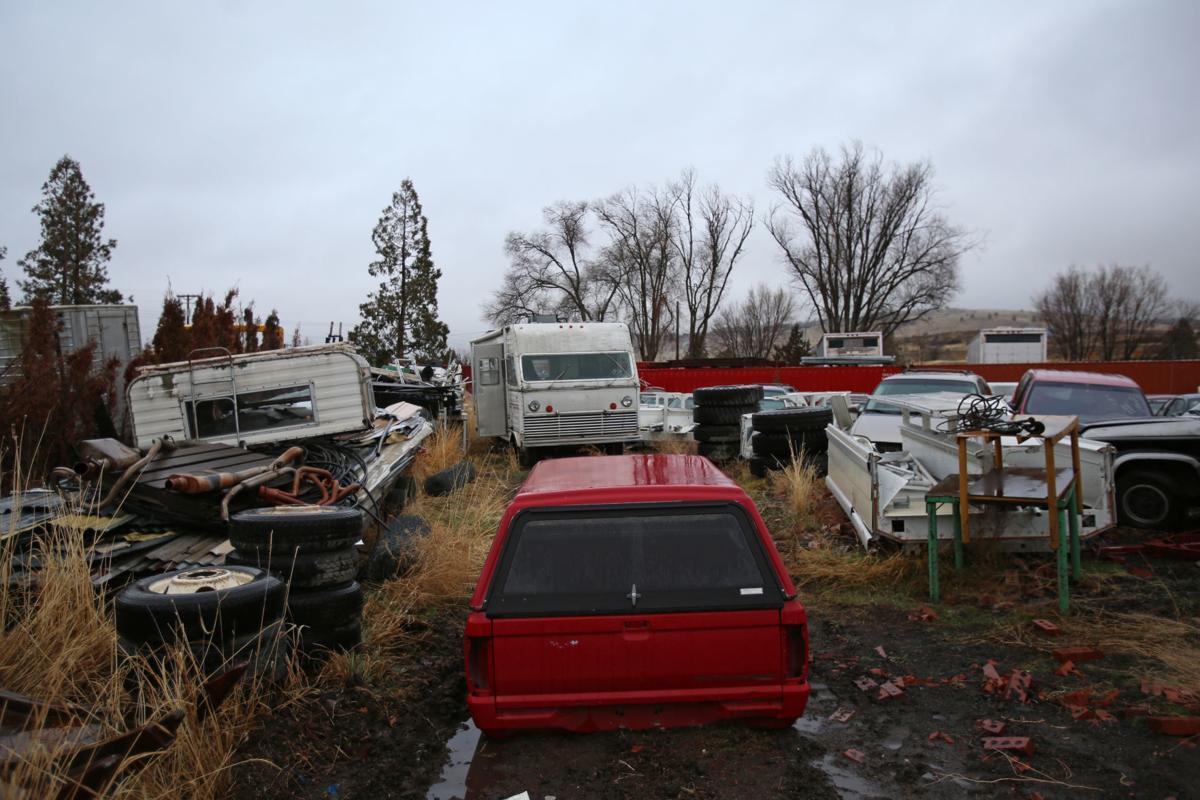Bill Adams Auto Wrecking Overflow Lots