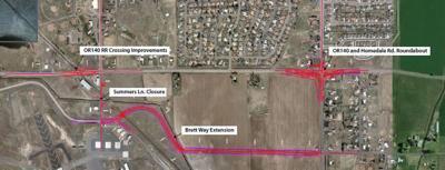 Brett Way project area map
