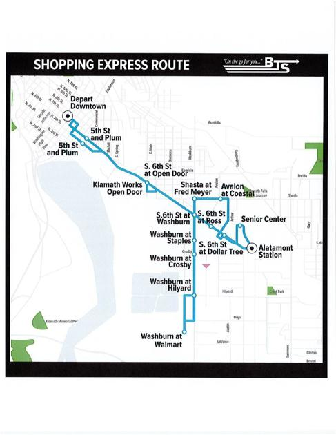 BTS introducing Shopping Express route in December | Local