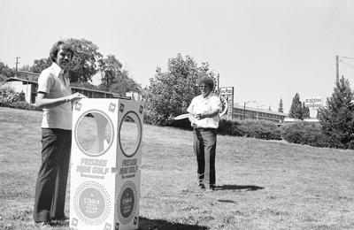 Klamath history photo of the week — Frisbee golf