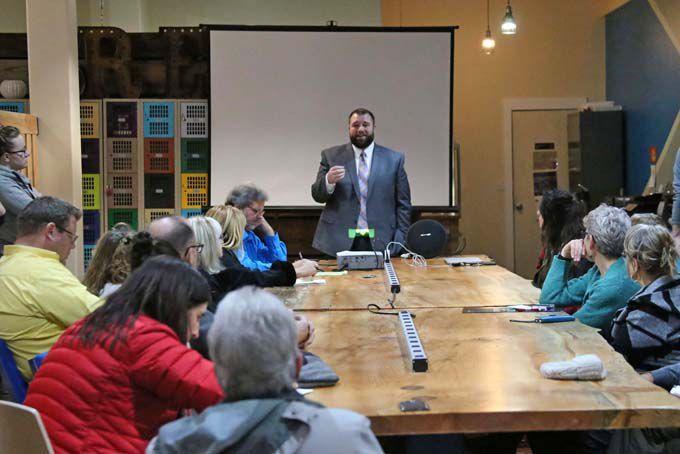 Klamath Falls Downtown Association, January 2018