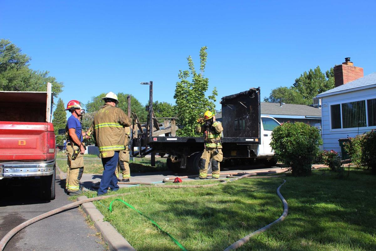 House damaged by fire Thursday