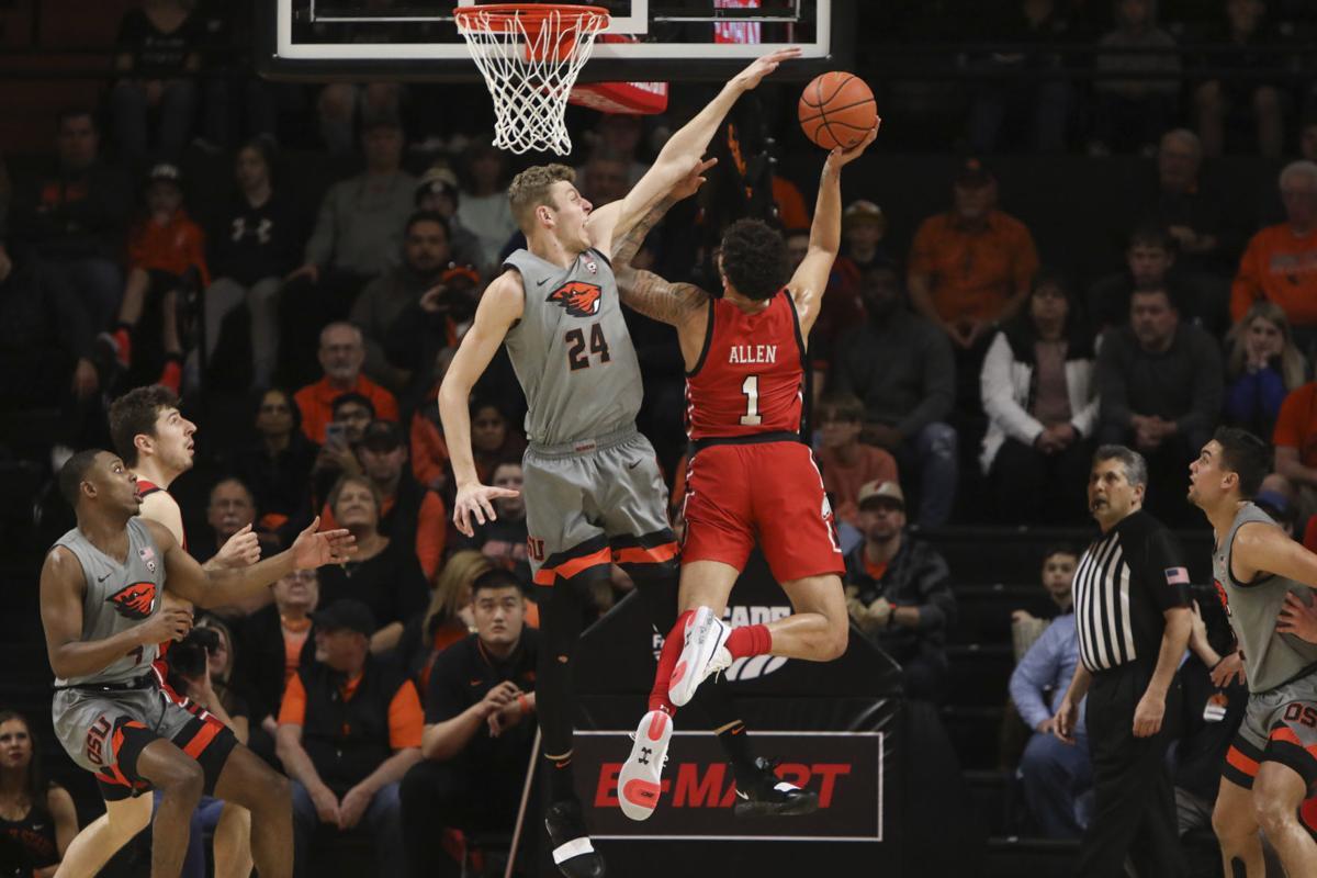 Utah Oregon St Basketball